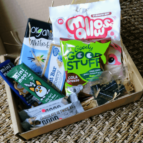 The best vegan subscription box. Vegan treats.