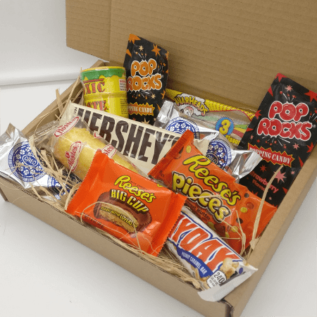 American Candy Gift Box transparent