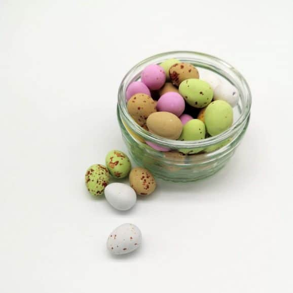 chocolate mini eggs image
