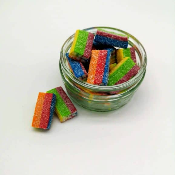 Rainbow Licorice Bricks image