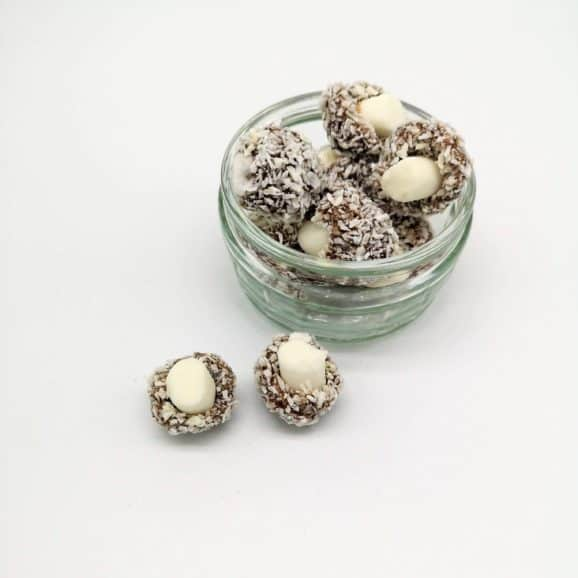 coconut mushrooms sweets image